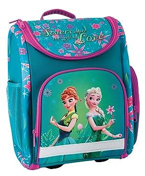 d31020cc04f1c Disney Eiskönigin Frozen Anna ELSA Schulranzen Mädchen 1 Klasse Tornister  Schulrucksack Schultasche Set 2 TLG.
