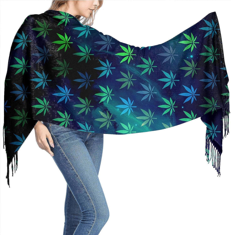 MYGZ-GW Semillas de cannabis Autofloreciente Bufandas de cachemira para mujer Bufandas Bufandas para mujeres Bufanda para mujeres Bufanda suave 77