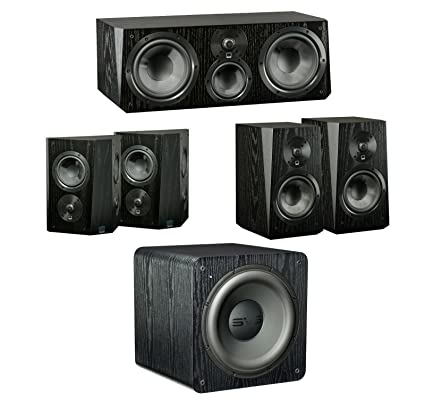 Amazon Com Svs Ultra 5 1 Home Theater System 1 Pair