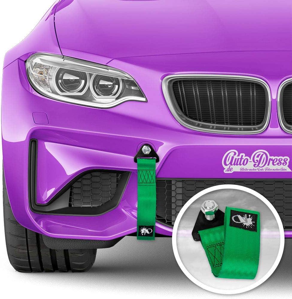 Auto Dress Rallye Drift Schlaufe Rennsport Motorsport Abschlepptau Tau Racing Hook Tow Strap Abschleppschlaufe Schlaufe In Verschiedenen Farben Grün Auto