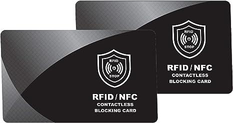 Amazon.com: Tarjeta de bloqueo RFID | Protección de tarjetas ...