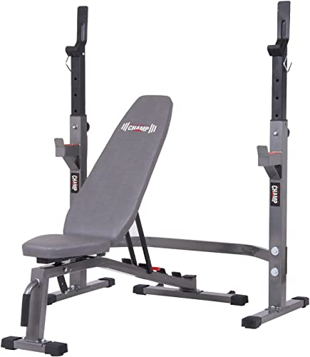 Body Champ Two Piece Set Olympic Weight Bench