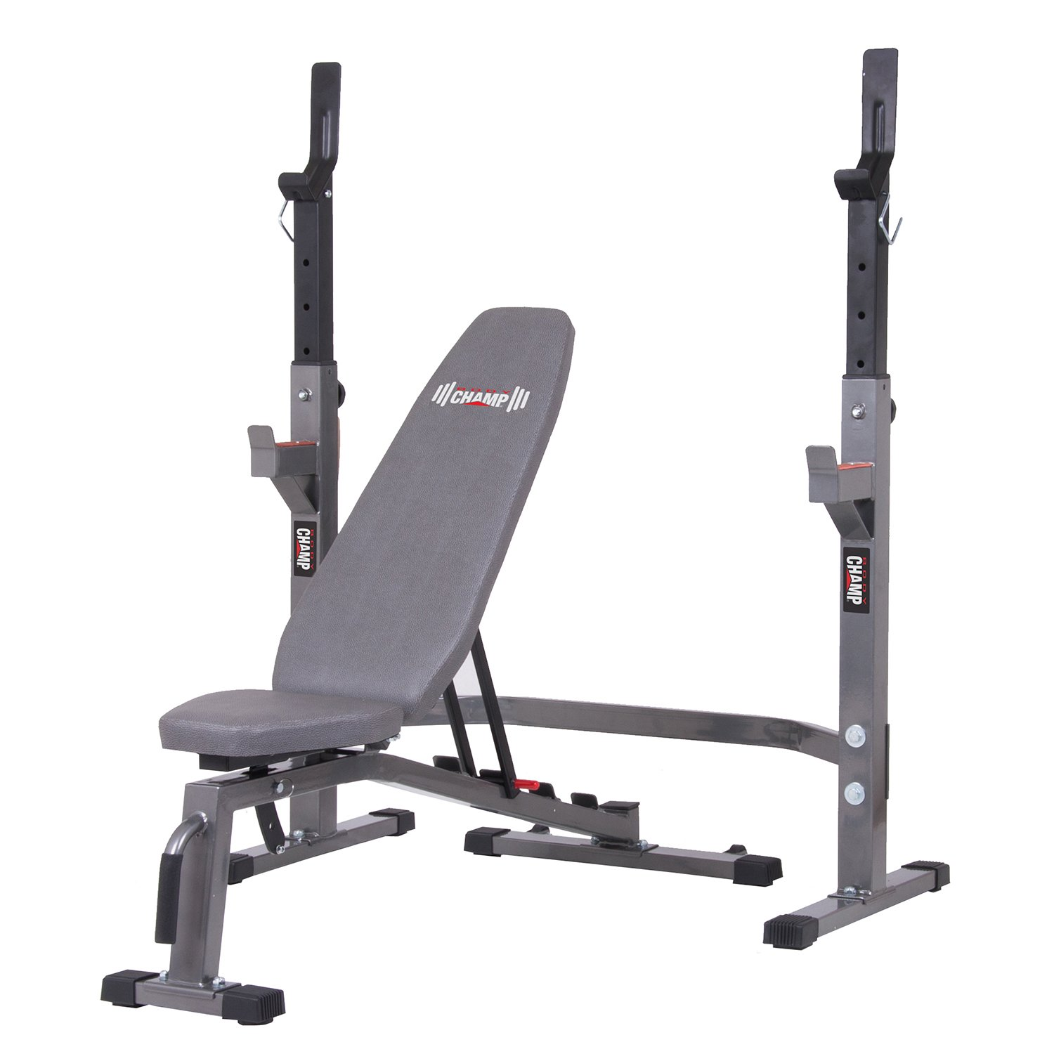 Two Piece Set Olympic Weight Bench with Squat Rack BCB3835 / PRO3900 by Body Champ