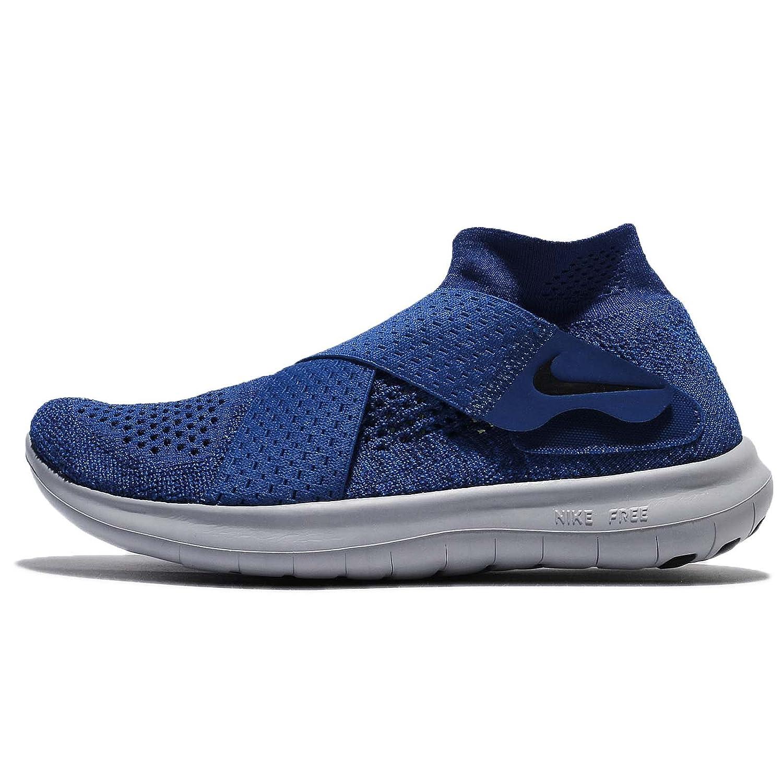 Nike Damen W Free Rn Motion FK 2017 Traillaufschuhe Blau (Binary schwarz Obsidian Gym Blau 401) 40 EU