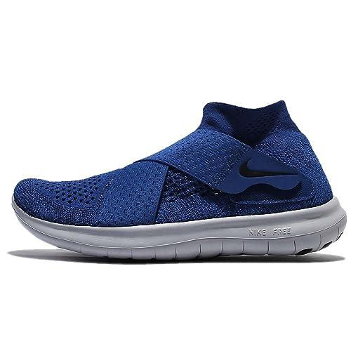 Nike W Free RN Motion FK 2017, Zapatillas de Trail Running para Mujer, Azul (Binary Black/Obsidian/Gym Blue 401), 41 EU: Amazon.es: Zapatos y complementos