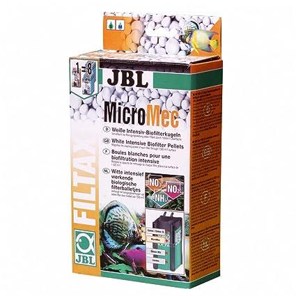 JBL 625480 Micromec Bolas Biológicas de Vidrio Sinterizado para Filtros de Acuario