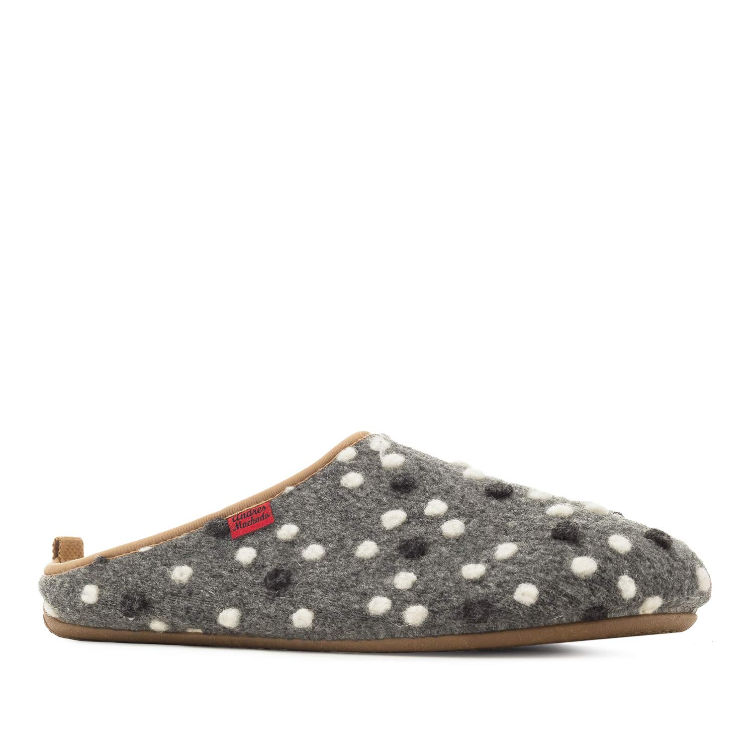 Andres Andres Machado.Dynamic.Chaussons Unisex in en 272 Feutre.Petites et Grandes Pointures 37/40-41/47.Made in SAIN Points Gris 12a0aad - automatisms.space