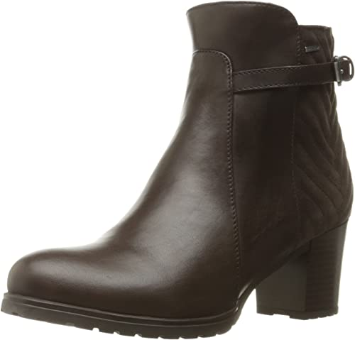 Parque jurásico Trueno Elevado  Geox Women's D Lise ABX A Combat Boots: Amazon.de: Schuhe & Handtaschen