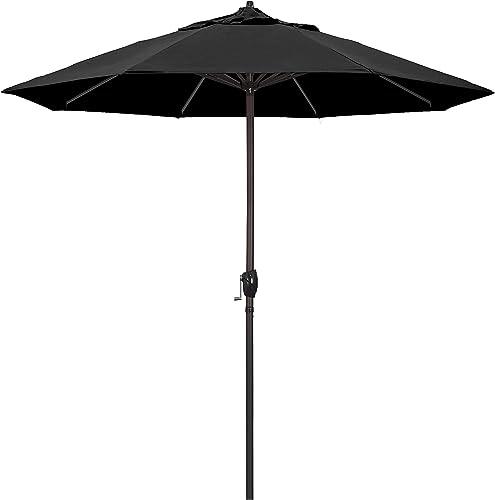 California-Umbrella-9'-Round-Aluminum-Market-Umbrella