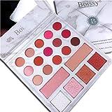 Eyeshadow Palette, Shouhengda Matte Shimmer Glitter Eyeshadow Primer 21Colors Waterproof Marble Makeup Palette Cosmetics