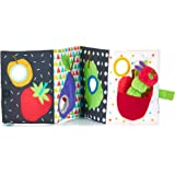 KIDS PREFERRED World of Eric Carle, The Very Hungry Caterpillar Soft in and Out Book and Stuffed Plush Toy