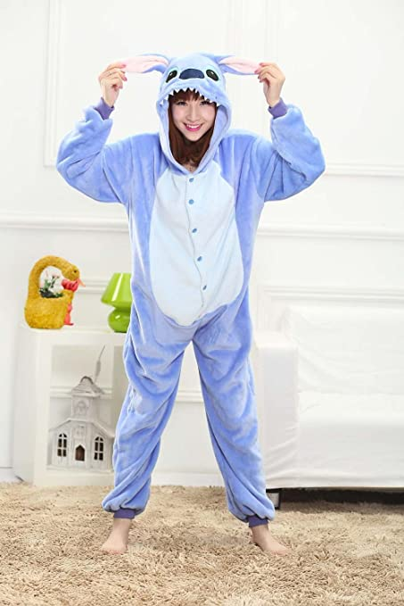 Labu Store Halloween Adult Anime Pajamas Sets Cartoon Sleepwear Women Pajamas Flannel Animal Panda Unicorn Pajamas