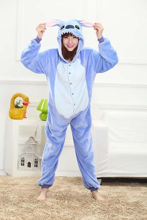 Amazon.com: Labu Store Halloween Adult Anime Pajamas Sets Cartoon Sleepwear Women Pajamas Flannel Animal Panda Unicorn Pajamas Winter Warm Hooded: Kitchen & ...