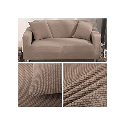 Amazon.com: Elibone Velvet Sofa Covers for Living Room Solid ...
