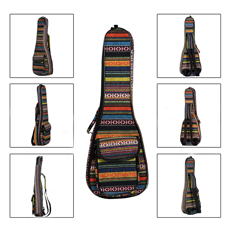 Amazon.com: 23 pulgadas bolsa de ukelele funda blanda gig ...