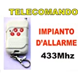 TELECOMANDO WIRELESS 433MHZ PER IMPIANTO D'ALLARME