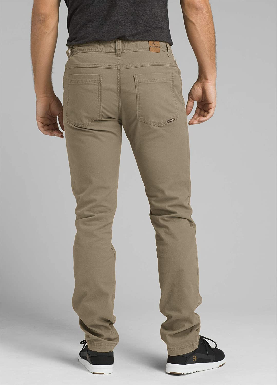 prAna Men's Tucson Pant Dark Khaki
