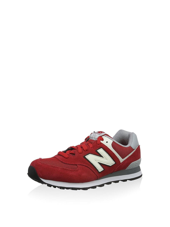 New Balance Herren ML574VAA Sneaker, rot 43 EU: Amazon.de ...