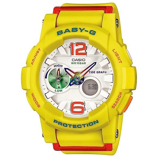 Reloj G Bga180 Playa Damas Serie Blanco Baby Lide Dial Moda Casio byfgY67