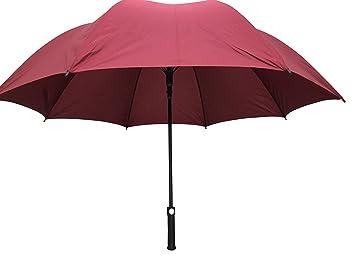 GB-120 - Paraguas de golf (peso ligero, 76 cm, mango de