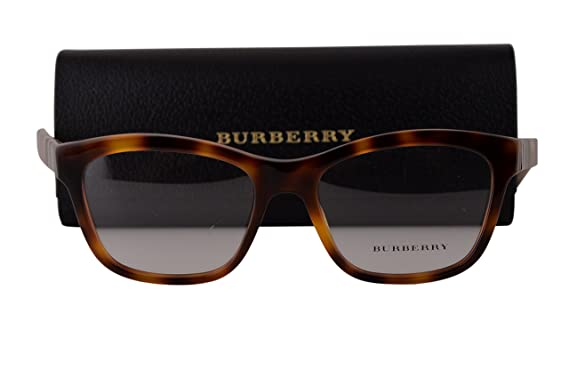 f4525faeab28f Amazon.com  Burberry BE2227 Eyeglasses 52-17-140 Light Havana 3601 ...