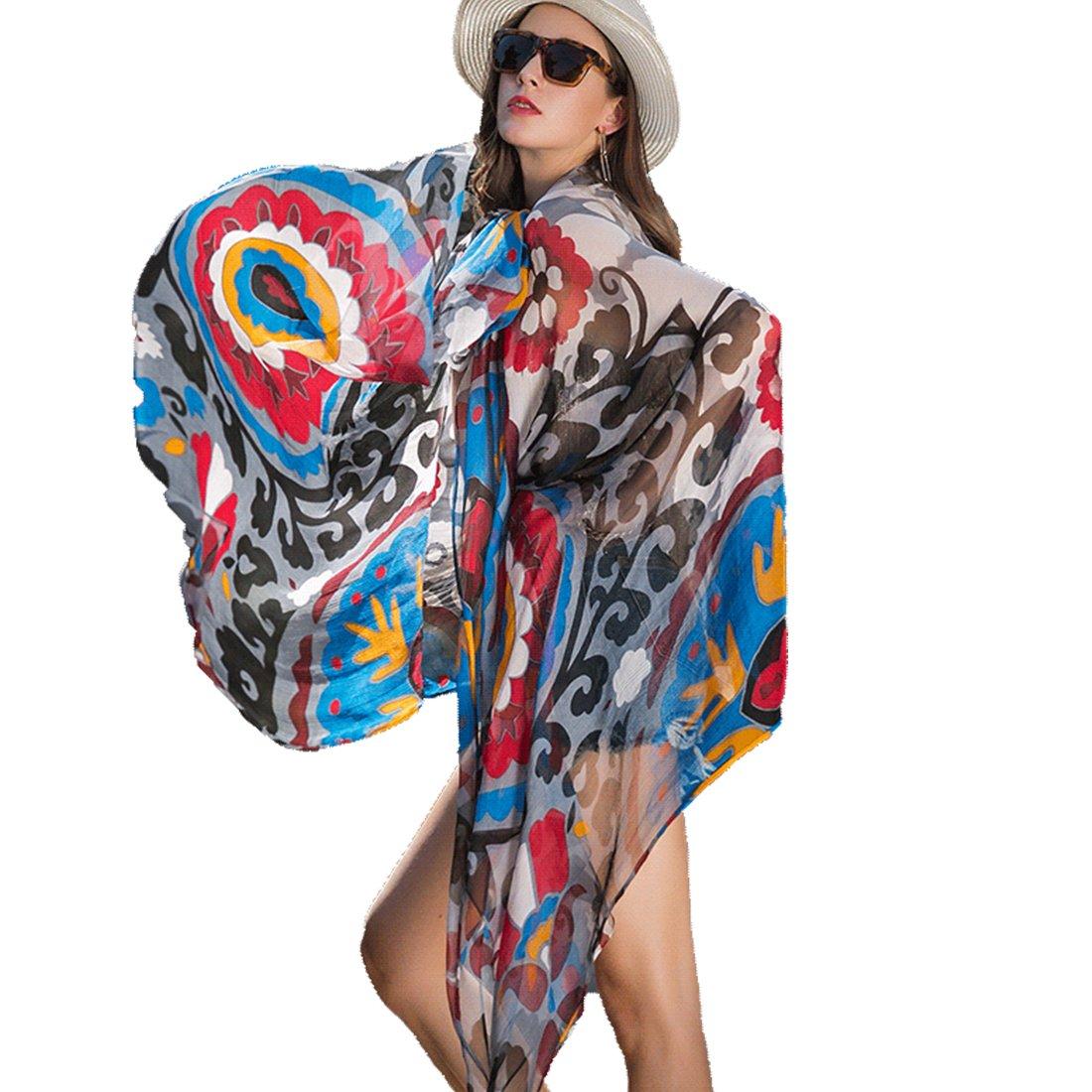 bluee DANA XU 100% Pure Silk Large Size Pashmina Shawls and Wraps Women Scarf