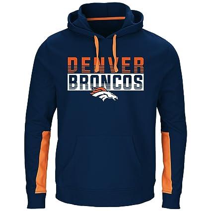 buy popular 22684 b12de NFL Mens Broncos Pullover Hoodie