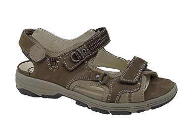 Waldläufer Damen Sandale Herki 361004-691-344 braun, Damen Größen 38.5  Farben braun  Amazon.de  Schuhe   Handtaschen 7a7f57763e