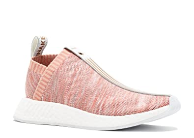 huge discount 19d1d b14cb adidas Mens Kith X Naked NMD CS2 PK S.E Pink White Fabric Size 10.5