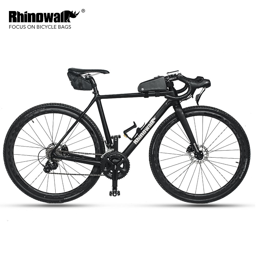 Rhinowalk Waterproof Bike Saddle Bag Bicycle Bag Under seat Bag Rainproof Mountain Road Bike Seat Bag Bicycle Bag Professional Cycling Accessories (Carbon-Black) by Rhinowalk (Image #6)