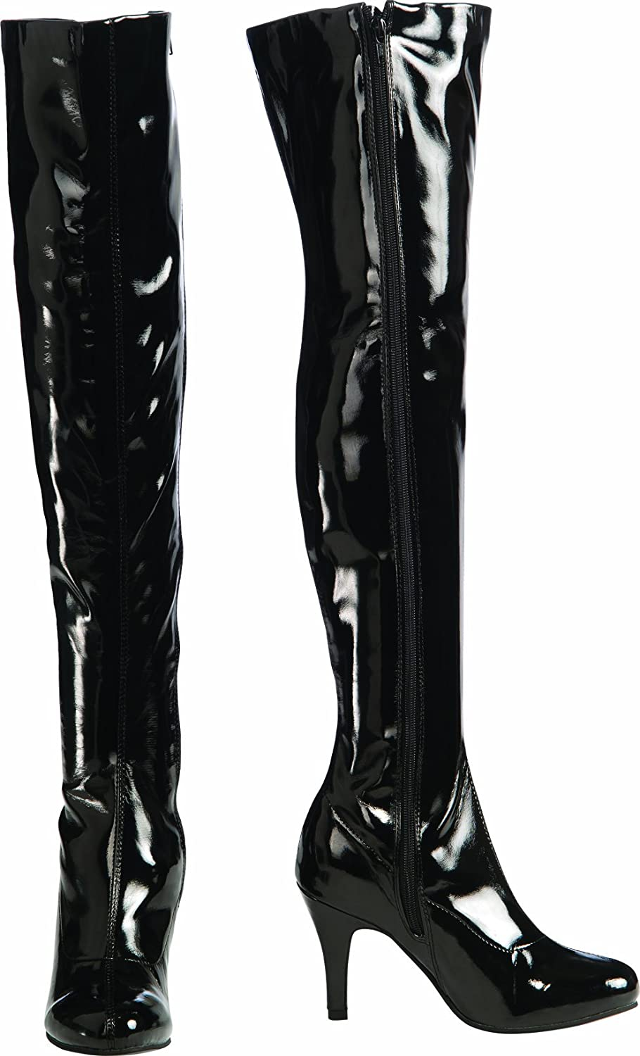 Rubies Costume Secret Wishes Thigh-High Boots with Stiletto Heels, Black, Small Rubies Costume Co (Canada) 884021S
