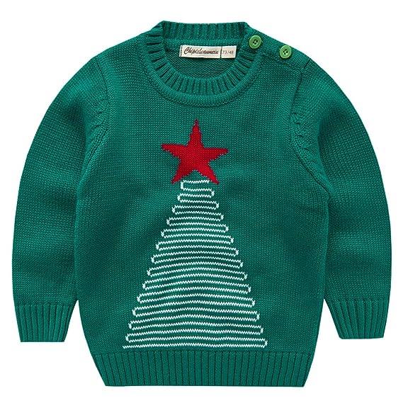 Vine Niños Sudaderas para Navidad Jersey Suéter Prendas de Punto ...