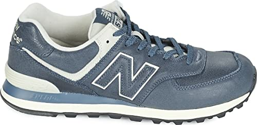 new balance 574 uomo white