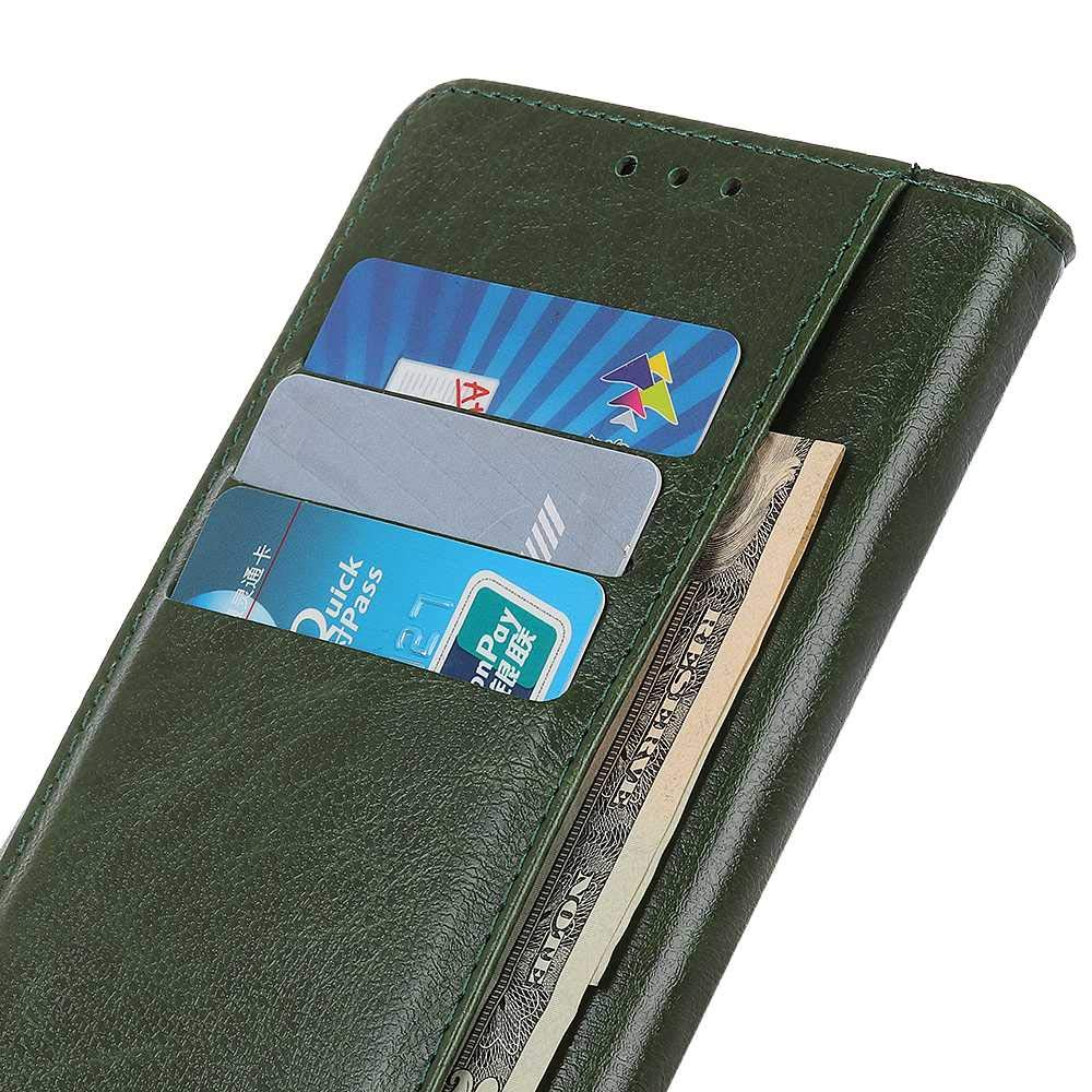 Dark Green Sony Xperia XZ3 Case,THRION Premium Leather Flip Wallet Cover with Card Slot Holder and Magnetic Closure for Sony Xperia XZ3
