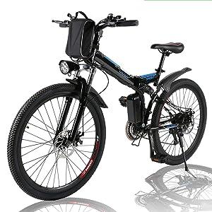 Angotrade 26 Inch Electric Bike