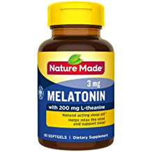 Nature Made Melatonin + with 200 Mg L-theanine