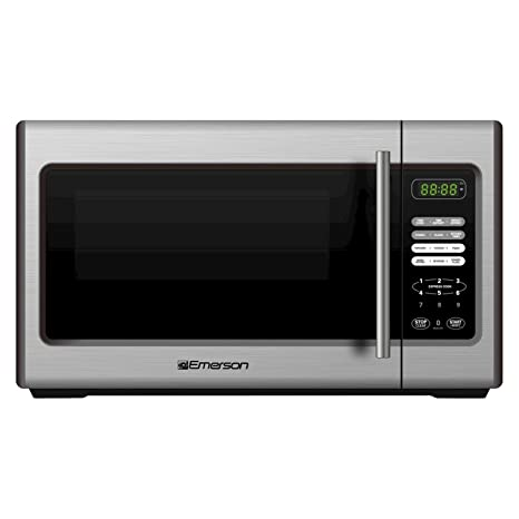 Amazon.com: Emerson 900-watt Microondas – Acero inoxidable ...