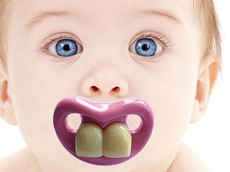 Amazon.com: Babypro Dos Frente Big Dientes chupete para el ...