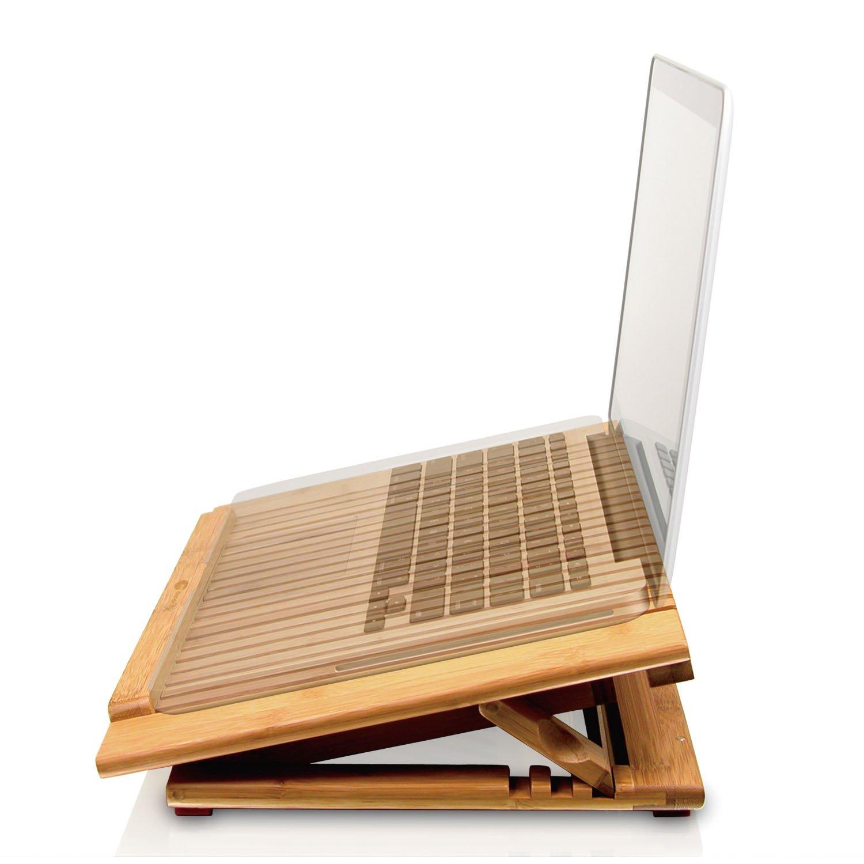 Macally ECOFANPRO - Base de refrigeración para portátil (2300 RPM), marrón (importado): Amazon.es: Informática