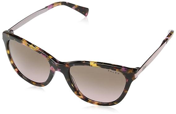 812cbd7b2ba53 Amazon.com  Ralph by Ralph Lauren Women s 0ra5201 Cateye Sunglasses ...