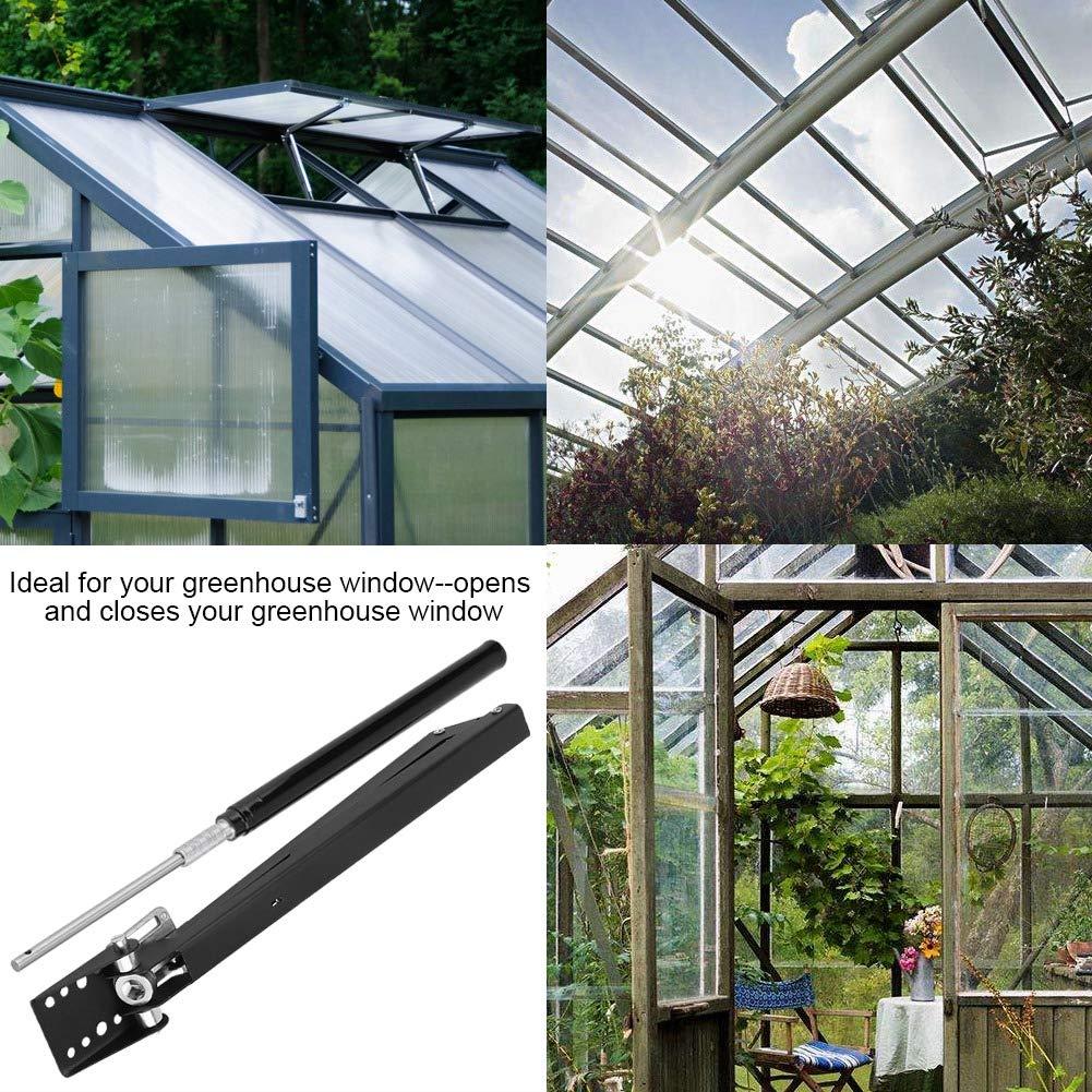 Hakeeta Apertura di Finestra di Ventilazione Automatica Solare Automatico Ascensori 15 libbre Soluzioni agricole Kit di Apertura per Finestra Apri di sfiato Serra per Serra.