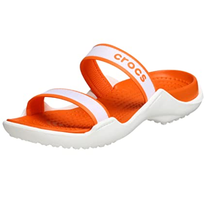 Crocs Cleopatra – Zapatillas para Mujer Sandalias Mujer Guantes Ocio Mujeres, Mujer, Blanco/