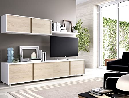 Modern And Inexpensive Living Room Furniture 200 Cm Glossy White