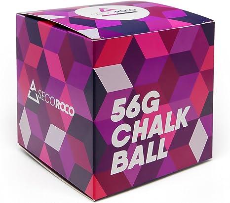 Secoroco Chalk Ball - Bolas de magnesio (4 Unidades) Relleno con 56 g de carbonato de magnesio. para Escalada, bouldern y Deportes de Fuerza.: Amazon.es: Deportes y aire libre