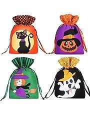 Hemoton Large Christmas Candy Bags