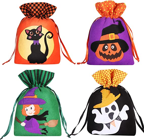 Cute Halloween Supplies Funny Gift Candy Gift Bags Handbag Hanging Ornaments-/%