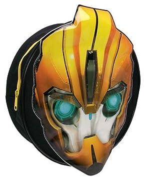 Trade Mark Collections Transformers Bumblebee - Mochila con diseño de Cabeza de Transformer en la Parte Delantera: Amazon.es: Equipaje