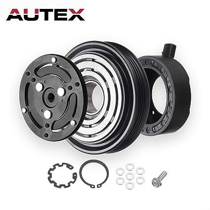 AUTEX AC A/C Compressor Clutch Coil Assembly Kit 4472607940 73111AG000 73111AJ040 88410B1010 Compatible with