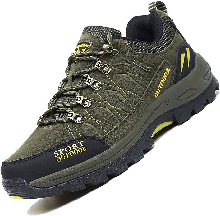Unitysow Zapatillas de Trekking para Hombres Zapatillas de Senderismo Botas de Montaña Antideslizantes AL Aire Libre Zapatillas de Camping Zapatillas de Deporte EU35-47: Amazon.es: Zapatos y complementos