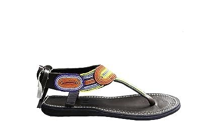 80cd4dfdb7bc perfection in progress Flat Summer Maasai Sandals for Women (6)